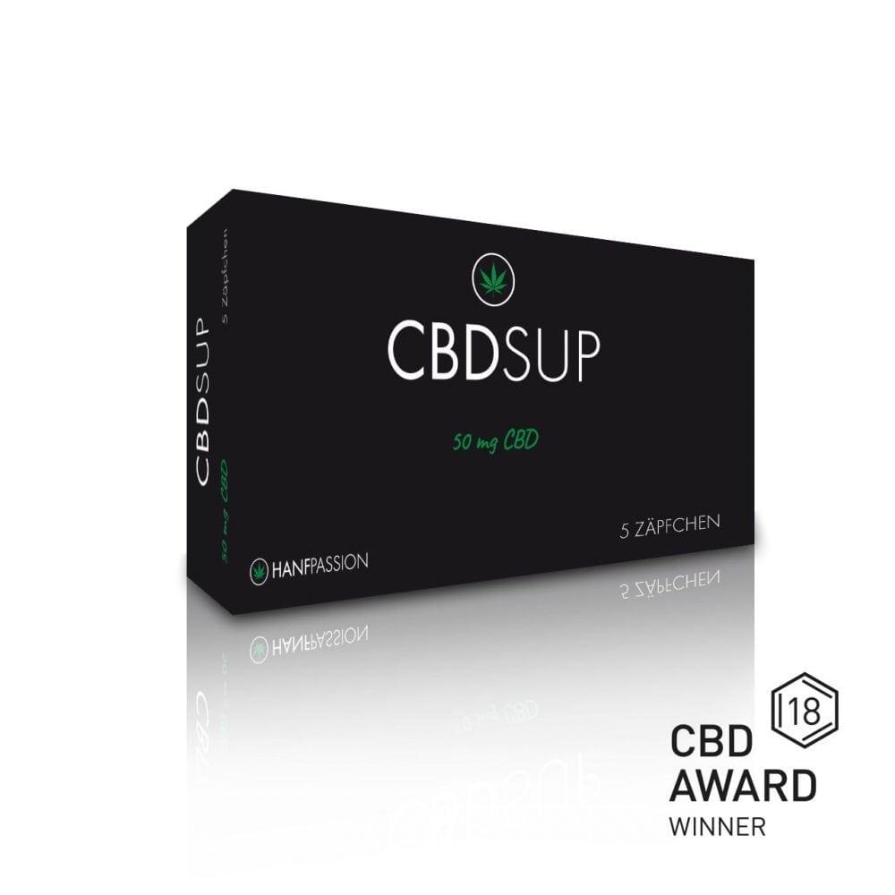 CBD SUP ist ein Zäpfchen, welches eine schnellere Wirkung hat, als das mündlich angenommenes CBD Öl.